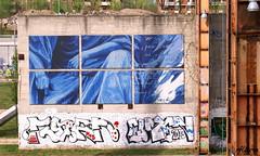 Murales68 (photoalfiero) Tags: street city italy streetart art colors wall writing torino graffiti town italia country culture streetphotography streetlife piemonte streetartist writer hiphop bomber murales turin colori strade isa bombing cultural bigcity turism bigtown stylewars industrialarchaeology inthecity lifetown paretidipinte bigtorino lestradeparlanoimuriurlano