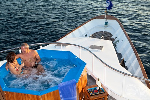 Galapagos Aggressor hot tub