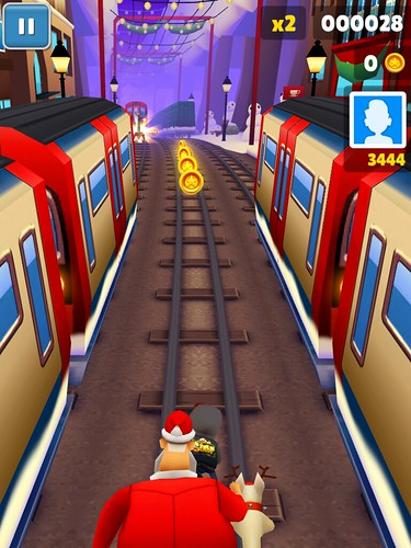 Subway Surfers Heads-Up Display: screenshots, UI