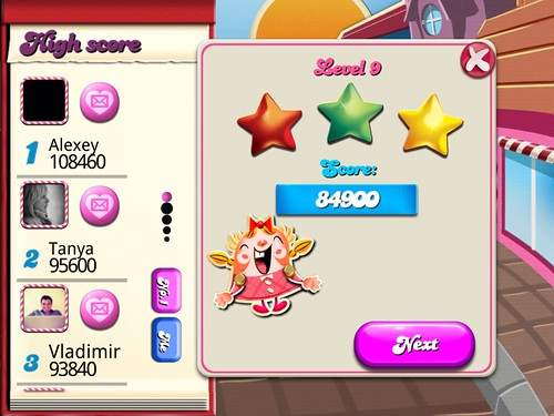 Candy Crush Saga Level Setup: screenshots, UI