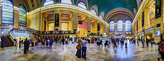 Grand Central Station (Anatoleya) Tags: city nyc people urban newyork station canon 5d grandcentral hdr photostitch 5d3 anatoleya