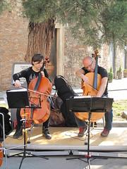 Concertino all'aperto. (sangiopanza2000) Tags: italy italia concerto vicenza musicisti veneto strumentimusicali concertino sangiopanza musicanti