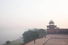 Yamuna River 7874 (Ursula in Aus (Resting - Away)) Tags: morning india mist architecture unesco yamunariver uttarpradesh earthasia