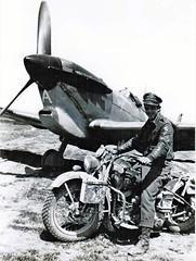 "and motorcycle buddy. Africa 1942-43 • <a style=""font-size:0.8em;"" href=""http://www.flickr.com/photos/81723459@N04/14032895560/"" target=""_blank"">View on Flickr</a>"