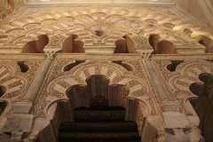 Mezquita- Cordoba (Liam Cheasty) Tags: spain catholic cathedral muslim islam mosque andalucia christian cordoba mezquita semanasanta 2014 motorhometravel liamcheasty