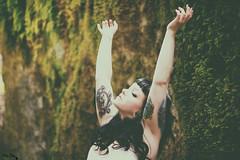 Anika (HelenaOctober) Tags: woman sun sunlight nature forest 50mm nikon emotion bokeh feel natur dream lovenature trumen