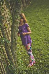 My little girl. (Gabriela Stevens) Tags: family portrait tree girl walk daughter