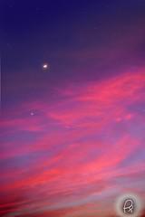Fantasy (Perpetually Shaw) Tags: longexposure pink sunset sky orange moon india love night sunrise stars amazing twilight nikon exposure peace indian serene spiritual dazzle vizag nikonclub nikond5200