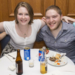 "<b>Senior Send-Off</b><br/> Seniors celebrate their time at Luther at Hotel Winnishiek.<a href=""http://farm3.static.flickr.com/2902/14068081610_2734c96f54_o.jpg"" title=""High res"">∝</a>"