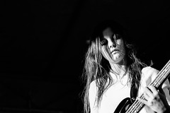 Jennifer (Bass) #The Scrapyards (DeGust) Tags: 85mmf14 bw bass basse bassiste blackandwhite blackwhite blues concert discosoupe europa europe face femme flon funk jenn lausanne monochrome music musician musicien musique nb niksilverefexpro2 nikkorafs85mmf14g nikond3s noirblanc noiretblanc placedeleurope portrait rock romandie soul spectacle suisse switzerland thescrapyards vaud