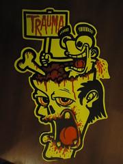Trauma in my head (.Trauma .) Tags: portugal graffiti stickers trade trauma t2 troca autocolantes
