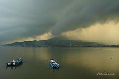 風雲變色 (Lavender0302) Tags: clouds taiwan 台灣 雲 淡水 油車口 觀音山 沙崙 新北市