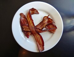 side of bacon at Slow Club in San Francisco (Fuzzy Traveler) Tags: sanfrancisco restaurant bacon sunday brunch slowclub