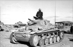 Panzer II of the 15th Panzer Divison in North Africa.