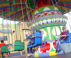 Exciting ride at Southport Pleasureland (Tony Worrall Foto) Tags: travel england kids fun town tour place ride northwest swings north fast visit location round area destination northern funfair excite southport pleasure southportpleasureland 2014tonyworrall