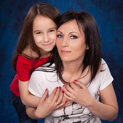 (MissSmile) Tags: family portrait love joy daughter mother smiles happiness together embrace tender misssmile