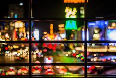 Las Vegas   |   Strip Bokeh (JB_1984) Tags: lights colour bokeh grid railing lasvegasboulevard lasvegasstrip thestrip paradise lasvegas lv nevada nv unitedstates usa nikon d7100 nikond7100