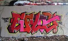 EFYOU BNI (stateofoppression) Tags: boston wall ma graffiti massachusetts tag production graff piece fyou bni efu efyou badnewsinc