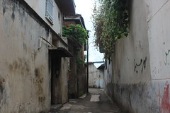 An old alley in Gabeneh Lahijan