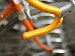 Orange colored sky _ #18/100 Bike Project (pierfrancescacasadio) Tags: bike canon 50mm 18 bikeproject