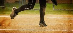 CYO softball - pitcher (rikki480) Tags: feet girl gabby legs kick indiana dirt softball mound pitcher saintjoseph fortwayne saintcharles onone underarmour cleats saintelizabeth gradeschool cyo perfecteffects