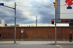 Urban Frame (Stephen Urb) Tags: toronto streets frames cntower sidewalk