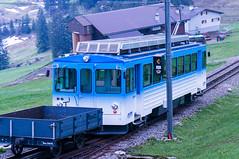 Cog Railway Aarth-Goldau to Rigi Kulm (Bephep2010) Tags: blue schweiz switzerland sony blau ch schwyz nex cograilway zahnradbahn cograilroad goldau kantonschwyz rigistaffel aarth nex6 sel55210