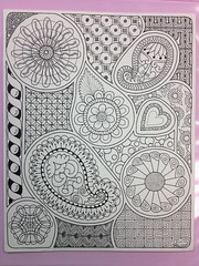 Doodle by PLHill (Sensational64) Tags: abstract art patterns handdrawn doodled zentangle zendoodle uploaded:by=flickrmobile flickriosapp:filter=nofilter