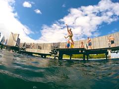 Jumps på sneglen (magnifik) Tags: hero københavn amb amager badning gopro sneglen