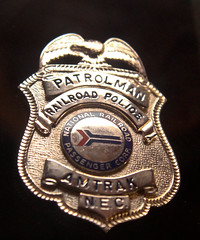 Amtrak railroad police badge (x376) Tags: police amtrak badges patches
