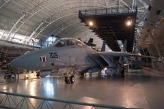 F-14 (brian.bellisario) Tags: space brian shuttle hazy discovery udvar bellisario
