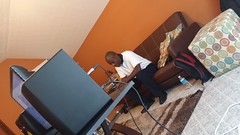 Day 2 in the Studio with Crimson Flow Records