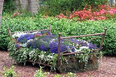 Planter-Vintage-Bed-Frame_Honeysucklelife_com (DougBittinger) Tags: