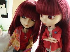 Yoshi & Susu (Promesas) 50 (Lunalila1) Tags: hospital outfit doll track stockholm handmade wig shade nakano groove pullip fh yoshi kuro estocolmo vi promesas susumi junplaning skupe stica