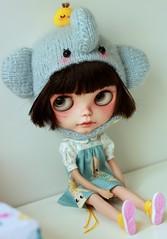 She love new Aline kewpie dress ;)