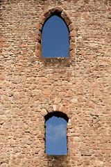 The Wall (gripspix) Tags: window abbey wall germany deutschland ruin ruine remains schwarzwald kloster mauer allerheiligen badenwrttemberg blackforrest oppenau berreste fensternische 20140622