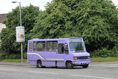 Arthurs Coaches - K14 BUS (MSE062) Tags: bus manchester mercedes benz single alexander coaches stagecoach minibus arthurs decker k14 avv 40434 709d n884avv k14bus n884