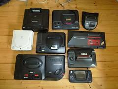 SEGA!!!! (Ampelfreund & Signal Hunter) Tags: game drive cd gear retro master sega saturn dreamcast mega cartridge systeme