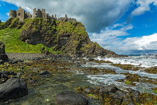 northernireland dunlucecastle irishcoast