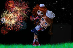 Blythe A Day ~ JULY 2014 ~ Day 4:  INDEPENDENCE DAY