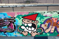 KABOUTER (desperados2016) Tags: streets graffiti utrecht tunnel bomb bombings utreg tunneltje