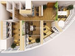 Thiết kế nội thất văn phòng EuroWindow- HN_01