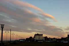 Evening sky (Kirkleyjohn) Tags: sunset sky clouds evening sunsetlight eveninglight kirkley lowestoftbeach