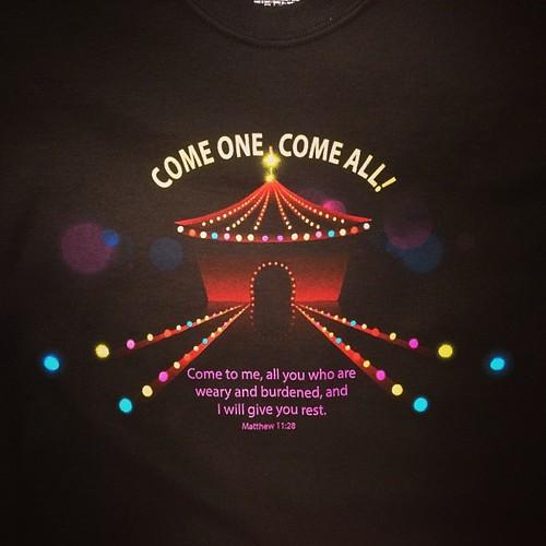 Come one, come all! #tshirts #SanAntonio #church