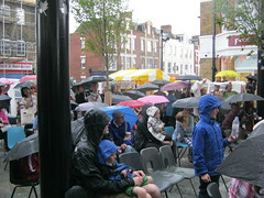 Jazz Tap Project audience (valya.alexander) Tags: rain festival project audience arts july jazz michele tap raining 5th pouring sydenham drenched drees 2014