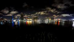 Jacksonville Skyline at night (timmillah) Tags: bridge lights sony jacksonville 8mm uwa rokinon a6000
