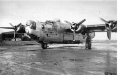 "Front view of Consolidated  (Douglas-Tulsa) B-24H-25-DT  Liberator  42-51108 ""Arrowhead"" (Old Buck Shots) Tags: tt tb egsv"