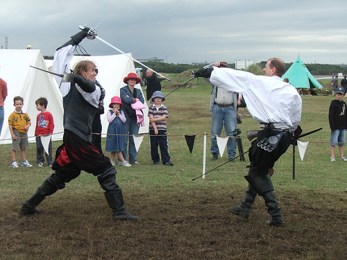 Rapier and Dagger. And the crowd are entranced.