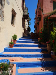Colourful stairs in Rethymnon!