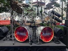 (Digiart2001 | jason.kuffer) Tags: nyc newyorkcity rock concert worldtradecenter performance band wtc gothamist silversteinproperties ozzmosis